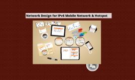 Copy of Project Proposal Presentation for IPv6 mobile network design in MRSM Mukah