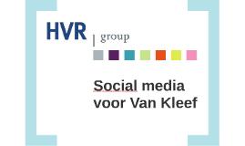 Social media voor