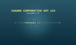 CUADRO COMPARATIVO ART.123