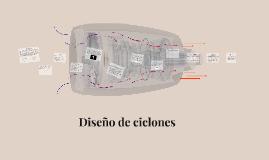 Diseño de ciclones