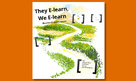 They e-learn, We e-learn