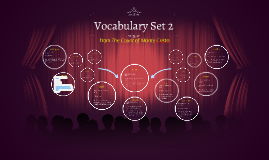 Set 17 Vocabulary