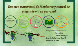 Integrantes: Gonzalo Cabrera