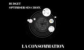 LA CONSOMMATION 1