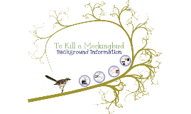 Copy of To Kill a Mockingbird Background Info