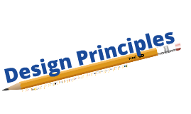 Design Principles - N4/N5 Graphic Communication