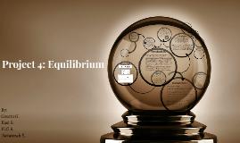 Project 4: Equilibrium