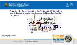 Training in Methodology and Didactics to Implement Content S