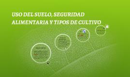 USO DEL SUELO, SEGURIDAD ALIMENTARIA Y TIPOS DE CULTIVO