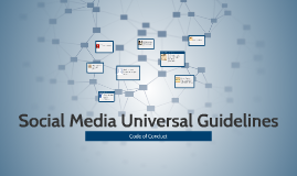 Social Media Universal Guidelines