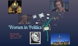 Copy of Women in Politics Presentation