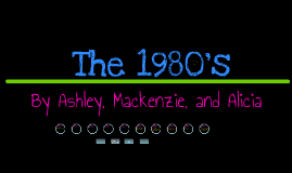 Life in the 1980's