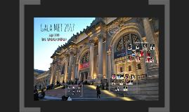 Gala MET 2017