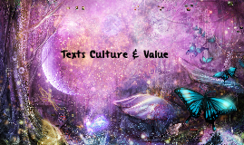 Texts Culture & Value