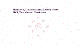 Monsoons, Thunderstorm, Easterly Waves, ICZ, Tornado and Hur