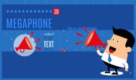 Copy of Free - Megaphone Guy 3D