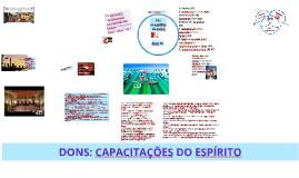 DONS: CAPACITAÇÕES DADAS PELO ESPÍRITO