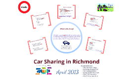 Car Sharing in Richmond BC 2013