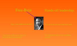 Free-Rein Leadership Style