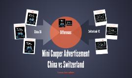 Mini Cooper Advertisement