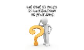 LAS IDEAS DE PÓLYA EN LA RESOLUCIÓN DE PROBLEMAS