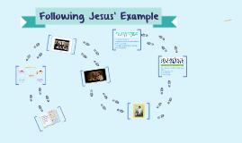 Jr. Primary Following Jesus' Example