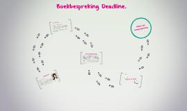 Boekbespreking Deadline.