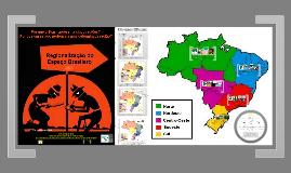 Copy of Regionalização do Espaço Brasileiro