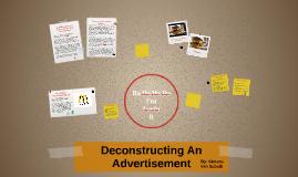Deconstucting An Advertisemnet