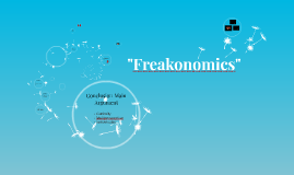 """""""Freakonomics""""1"""