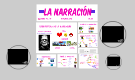 ESTRUCTURA NARRACIÓN