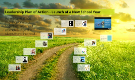 Copy of Leadership Plan of Action - Launch of a New School Year