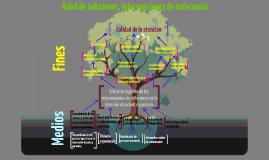 Árbol de soluciones intervenciones de enfermeria