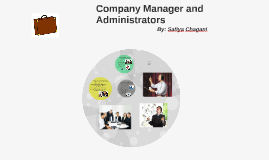 Company Manager and Administrators
