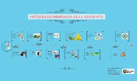 Línea del tiempo de los métodos de enseñanza de la Geografía