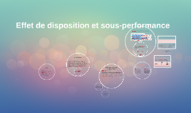 Copy of Effet de disposition et sous-performance