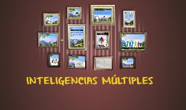 Copy of INTELIGENCIAS MÚLTIPLES