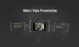 Helen's Video Presentation