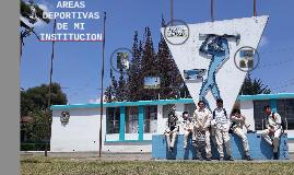 Copy of AREAS DEPORTIVAS DE MI INSTITUCION