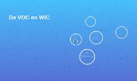 De VOC en WIC