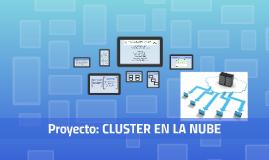 Cluster en la Nube
