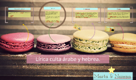 Copy of Lírica culta árabe y hebrea.