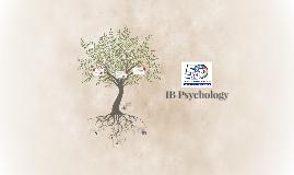 Copy of IB Psychology