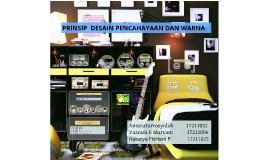 Copy of PRINSIP  DESAIN PENCAHAYAAN DAN WARNA