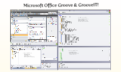Microsoft Office Groove & GrooveIT!