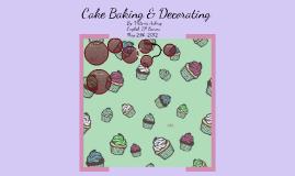 Senior Project-Cake Baking & Decorating
