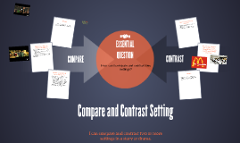 Copy of Compare and Contrast Setting
