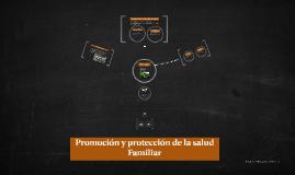 Promoción y protección de la salud Familiar