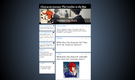 Characterization: The Catcher in the Rye