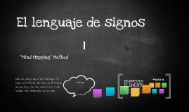 El lenguaje de signos